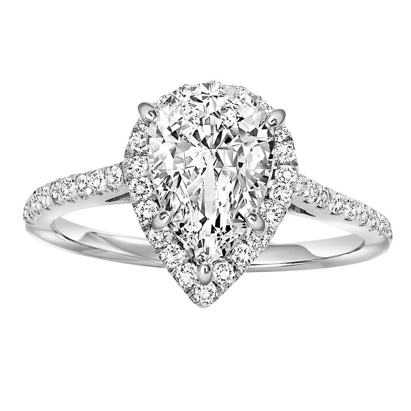 Bridal Bells 14K Diamond Engagement Ring