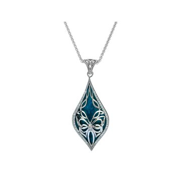 Cocooned Butterfly Pendant Small