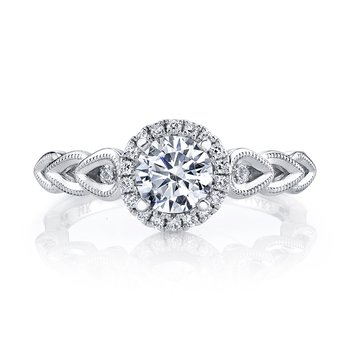 MARS 25855 Diamond Engagement Ring 0.14 ct tw