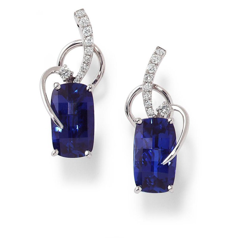 06ea323ed Chatham Blue Sapphire Earrings-CE2459CWBS. Stock # CE2459CWBS