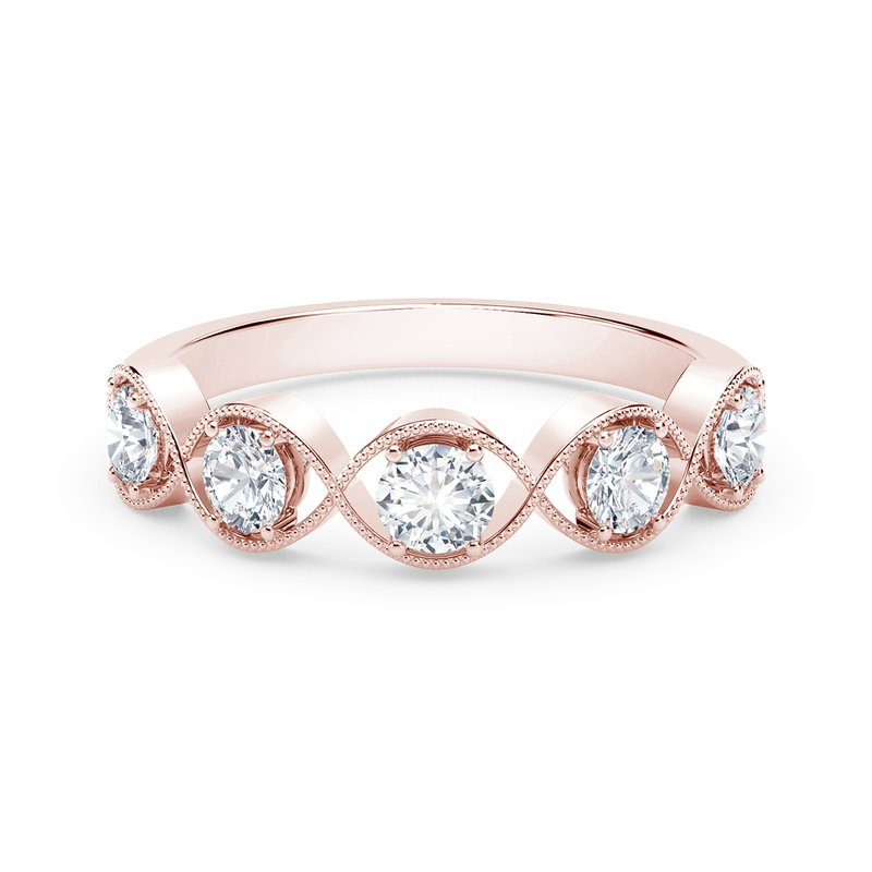 Forevermark The Forevermark Tribute™ Collection Braided Five Stone Ring