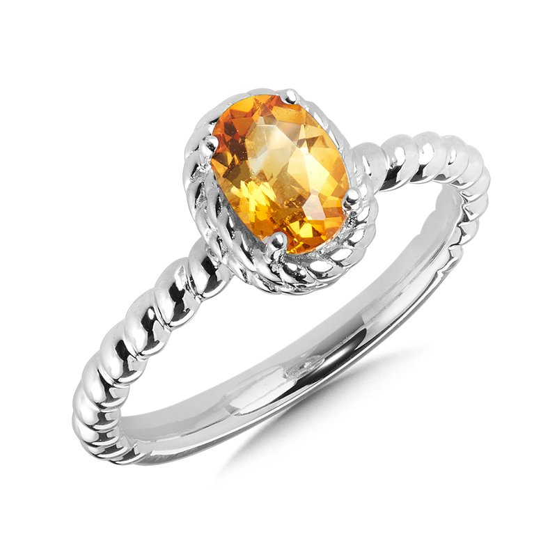 SDC Creations Citrine Ring in Sterling Silver