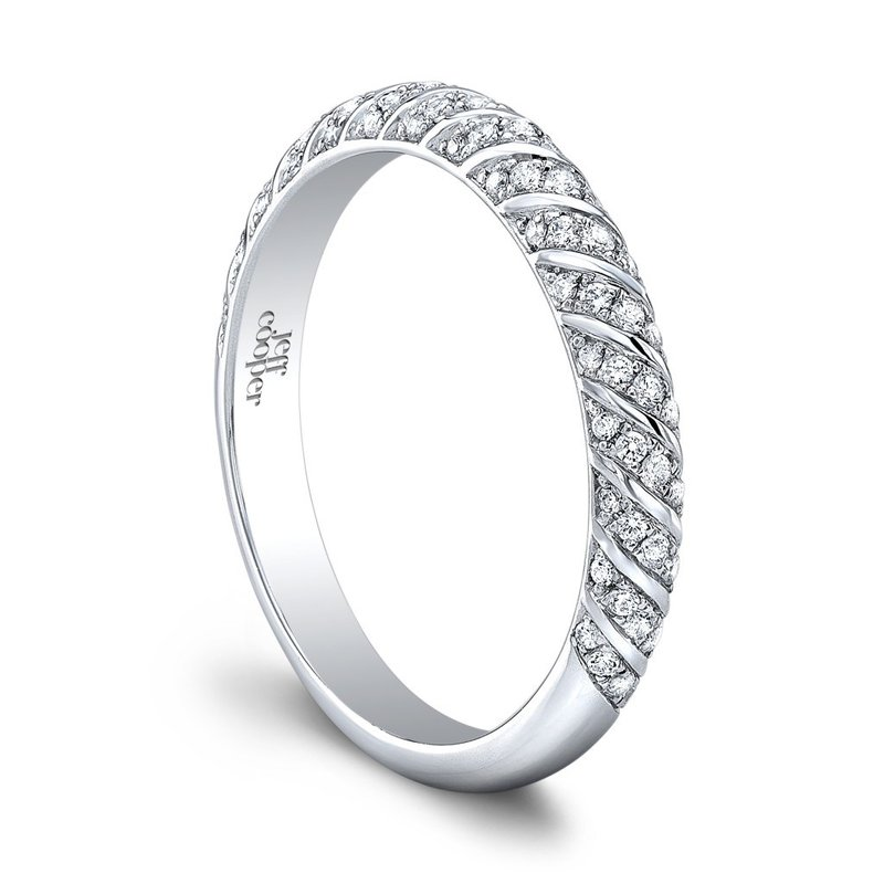 Jeff Cooper Lotus Wedding Band