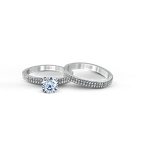 Zeghani ZR263 WEDDING SET