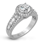 Zeghani ZR1169 ENGAGEMENT RING