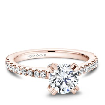 Noam Carver Modern Engagement Ring B002-01RA
