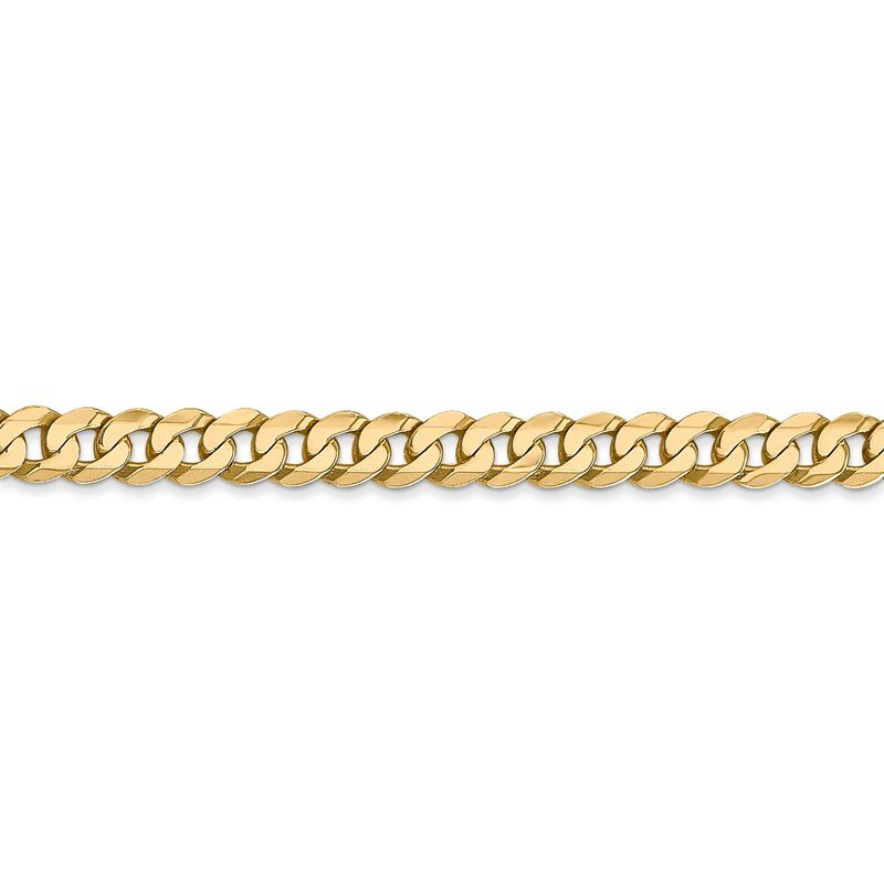 Leslie's Leslie's 14K 4.5mm Flat Beveled Curb Chain