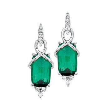 Emerald Earrings-CE2632CWEM