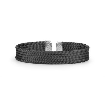 Black Cable Mini Cuff