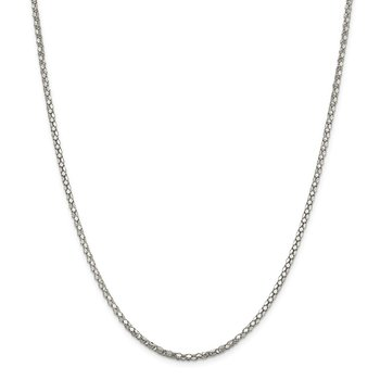 Sterling Silver 2.5mm Popcorn Chain