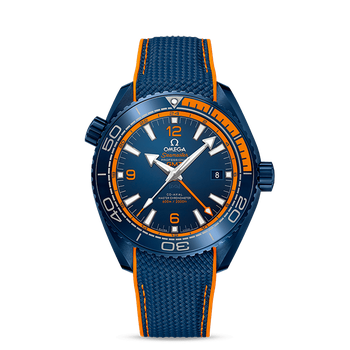 Seamaster Planet Ocean 600M Omega Co-axial Master Chronometer GMT 45.5 mm