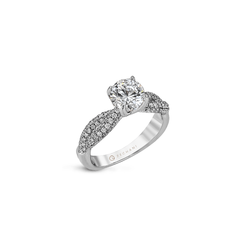 Zeghani ZR1035 ENGAGEMENT RING