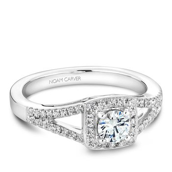 Noam Carver Modern Engagement Ring B100-03A