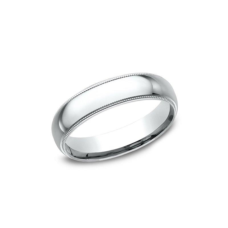 Greenberg's Jewelers: Benchmark Milgrain Standard Comfort