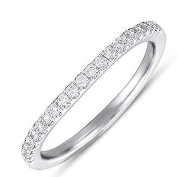 Matching Diamond Curved Band