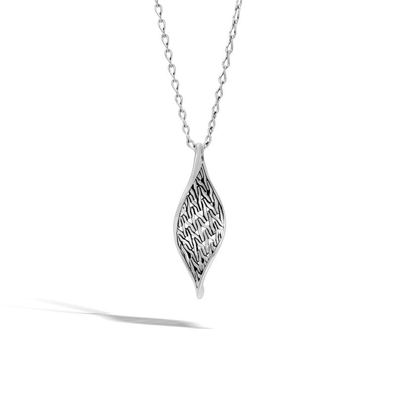 3693ef1505abf Orr's Jewelers: John Hardy Classic Chain Wave Pendant Necklace in Silver