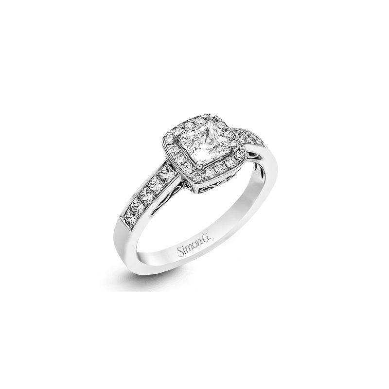 Simon G MR1829 ENGAGEMENT RING