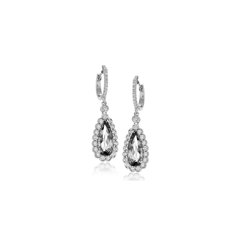 Simon G ME1757-A COLOR EARRING