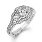 Simon G MR2623 ENGAGEMENT RING