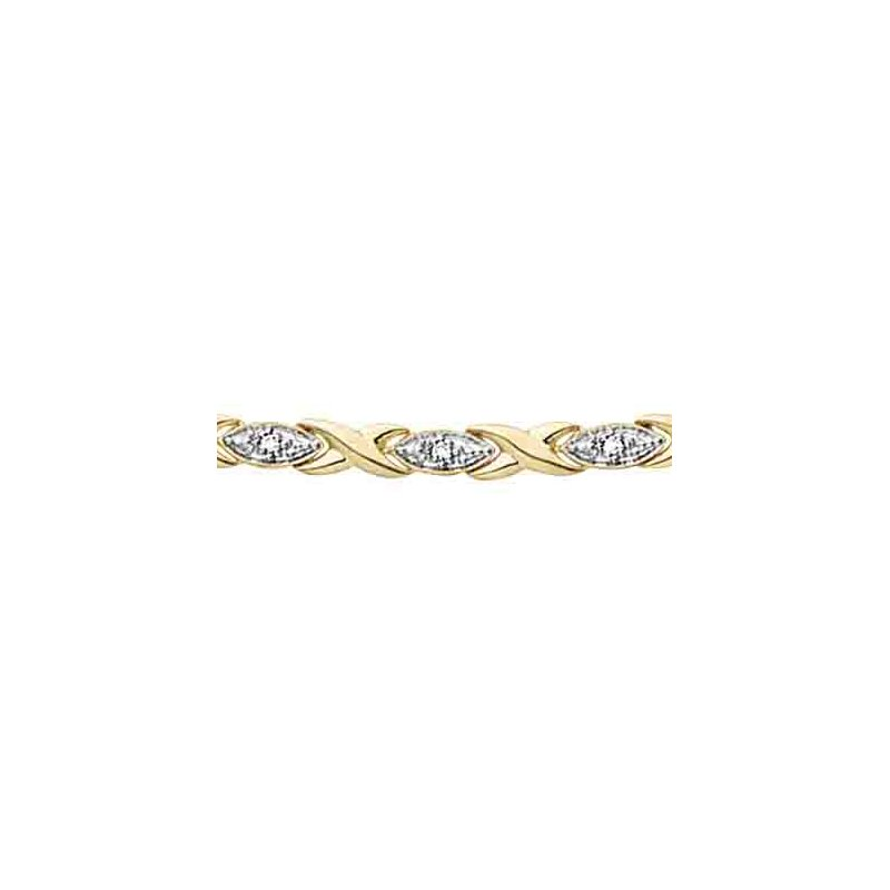 D of D Signature Diamond Bracelet
