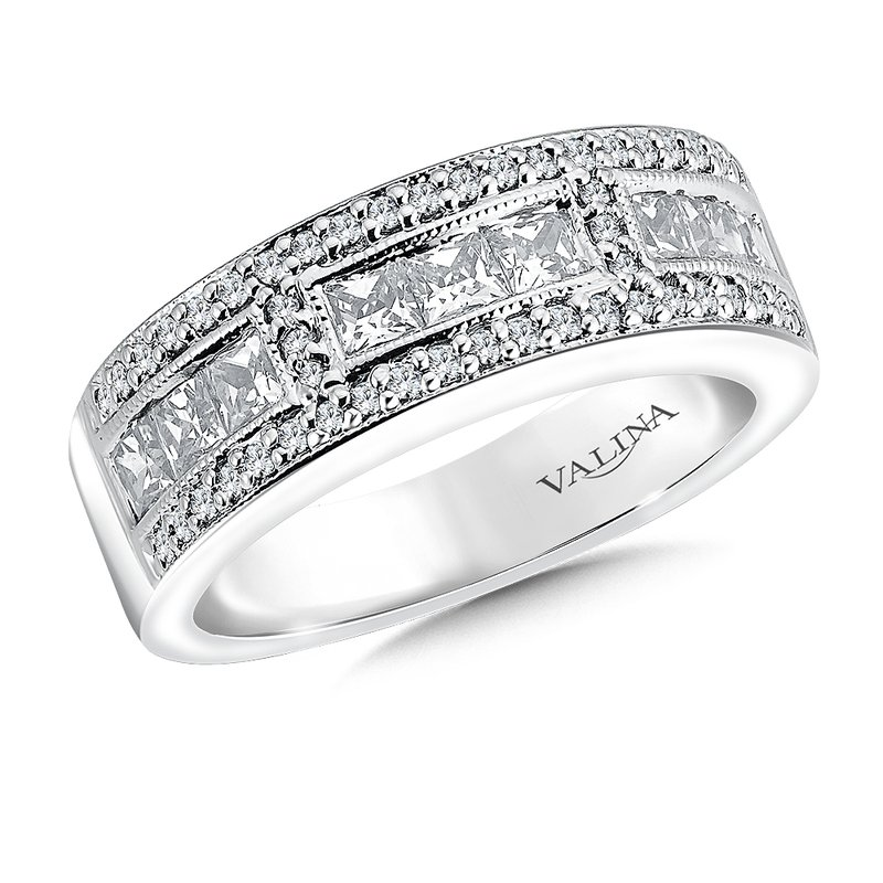 Valina Bridals Diamond Anniversary Band 1.01 ct. tw.