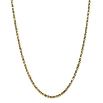 10k 3.5mm Diamond-cut Rope Chain