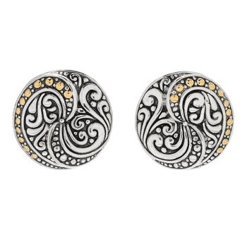 Balinese Swirl Earrings