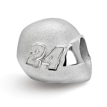 Sterling Silver 24 Jeff Gordon NASCAR Bead