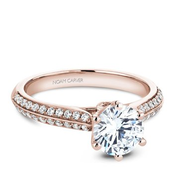Noam Carver Vintage Engagement Ring B144-17RA