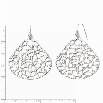 Leslie's Sterling Silver Shepherd Hook Dangle Earrings