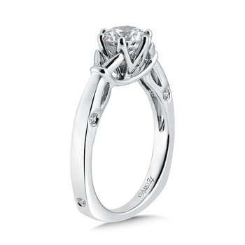 6-Prong Center Solitaire Engagement Ring in 14K White Gold (1ct. tw.)