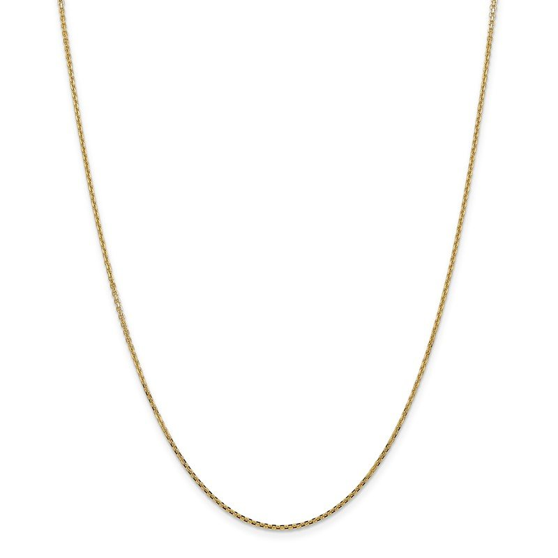 Quality Gold 14k 1.45mm Solid D/C Cable Chain