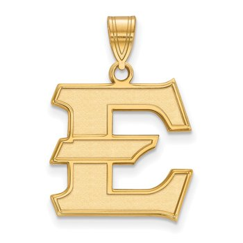 Gold-Plated Sterling Silver East Tennessee State University NCAA Pendant