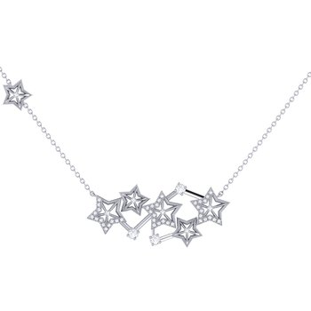 Starburst Constellation Necklace in Sterling Silver