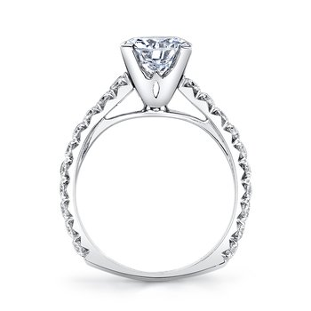 MARS R246 Diamond Engagement Ring, 1.28 Ctw.
