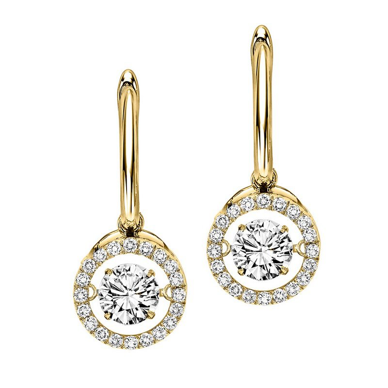 Rhythm of Love 14K Diamond Rhythm Of Love Earrings 2 1/2 ctw