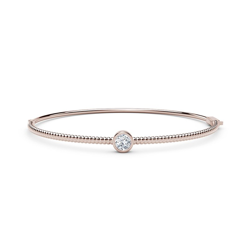 Forevermark The Forevermark Tribute™ Collection Solitaire Beaded Bangle