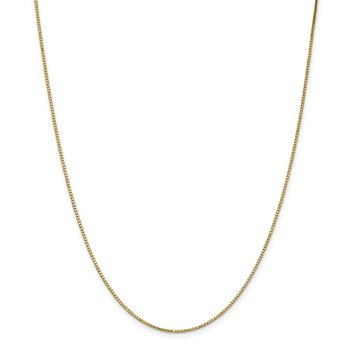 14k 1.1mm Box Chain