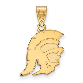 Gold University of Southern California NCAA Pendant