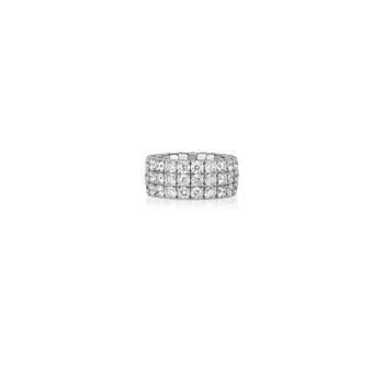 Cento Flex Three Row Eternity Ring
