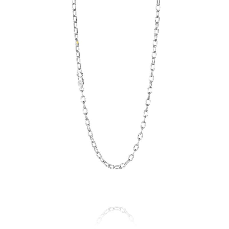 Tacori Fashion Link Silver Chain - 18 inches
