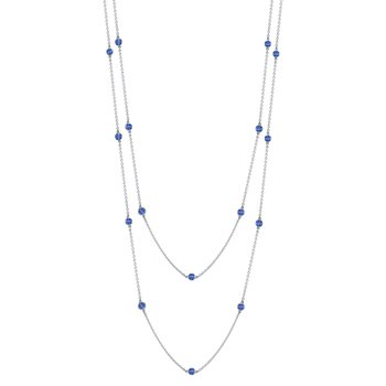 "Sapphire ""By the Yard"" Chain"