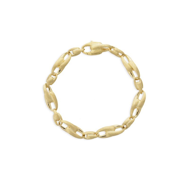 Marco Bicego Marco Bicego® Lucia Collection 18K Yellow Gold Medium Alternating Link Bracelet