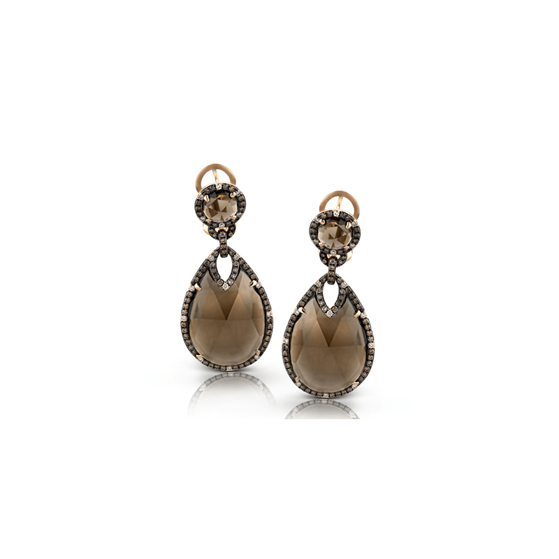 Zeghani ZE437 COLOR EARRING