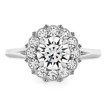 0.52 ctw. Liliana Halo Engagement Ring