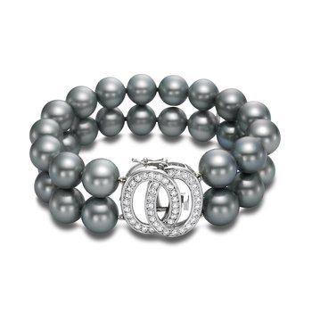 Limited Edition Infinity Tahitian Pearl Strand Bracelet