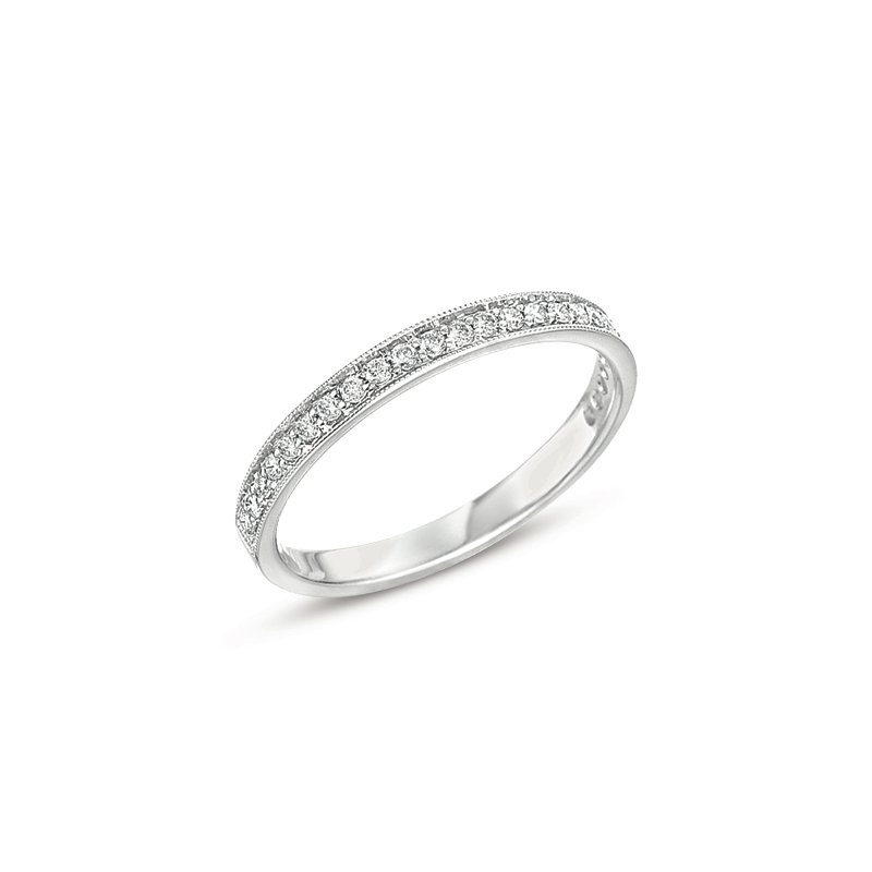 S. Kashi & Sons Bridal Pave Diamond Band