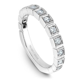 Noam Carver Wedding Band B008-02B