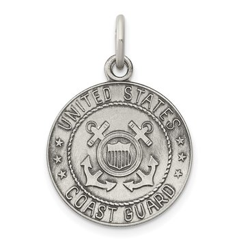 Sterling Silver US Coast Guard Medal