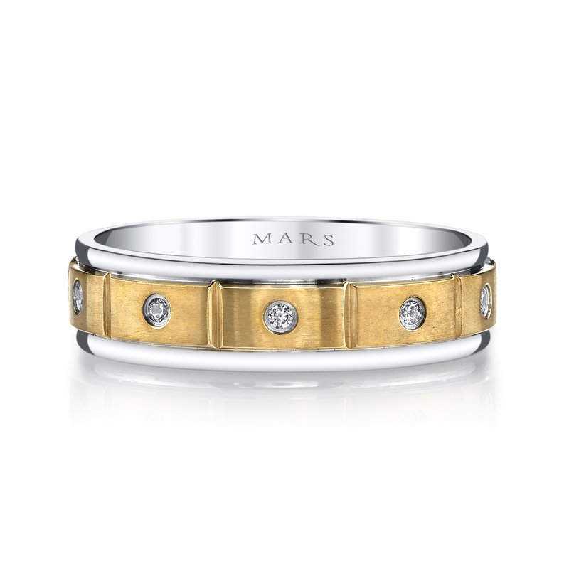MARS Jewelry MARS G134 Men's Wedding Band